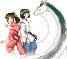 : Spirited Away : by jncomplete