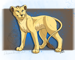 Lena as a Adult lion. :) by CandaceConrad19