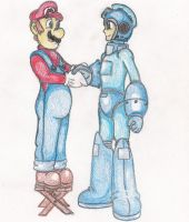 I Support Megaman in SSB4 by TheGloriesBigJ