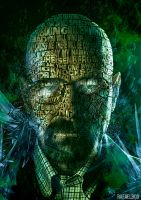 Typographic Art of Walter White - Breaking Bad by rafaelboo