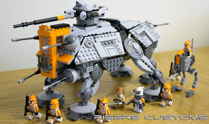 Lego Star Wars Custom Republic 212th AT-TE / AT-RT by Riser38