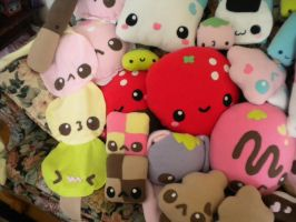 Kotoricon Inventory Closeup 1 by FluffSugarCafe
