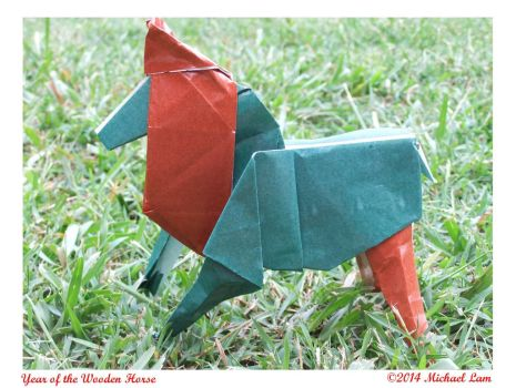 Year of the Wooden Horse by Blackvegetable
