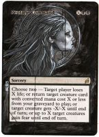 Magic Card Alteration: Profane Command 9-4 by Ondal-the-Fool