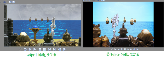 Dragonstone - Before and after(Screenshot #7) by Greatgodofmineworld