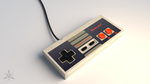Nintendo Entertainment System by Polymoog