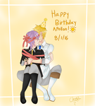 Happy Birthday Apollon by AmaiYuzuki564