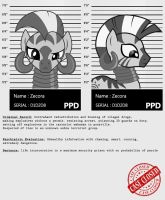 My little Criminal Records: Zecora by dan232323