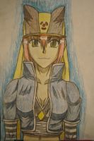 Cuite with hat in colour by Hinyness