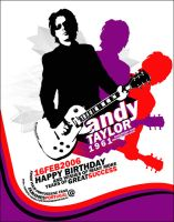 Andy Taylor b-day e-card '06 by urwhatufeel