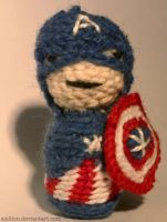 Captain America Amigurumi by xAllion