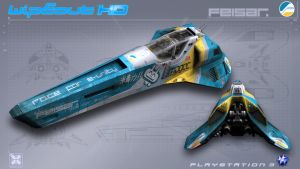 Feisar - WipEout HD - PS3 by nocomplys
