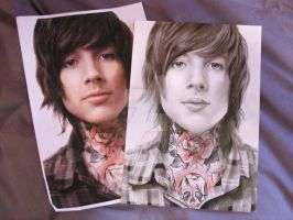 ollie sykes drawing to photo comparison by breaisbees