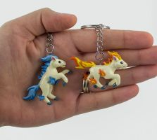 Ponyta Charms by WispyChipmunk