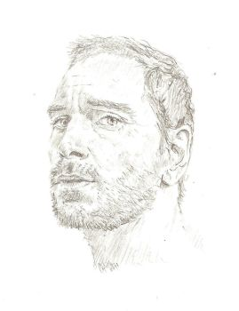 Michael Fassbender 3 by bcstroud