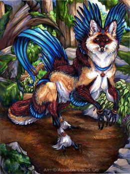 Forest Fox by beastofoblivion