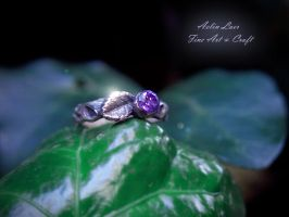 Eithel Lalaith silver ring by Gwillieth