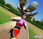 Athena Asamiya 2001 Cosplay -10- by Blueblood2