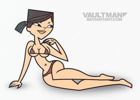 Bikini Heather - Commission by VaultMan