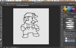 marioWIP by Andrea-Perry