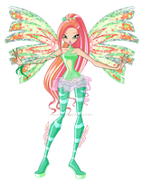 WINX: Emma Sirenix Concept by lightshinebright