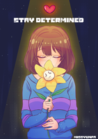 Undertale: Stay determined by missrukia-chan7