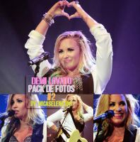 Demi Lovato Pack de Fotos #2 by ItWasJustAKiss