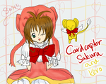 Cardcaptor Sakura and Kero by sossli