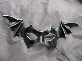Bat-winged Leather Mask by MummersCat