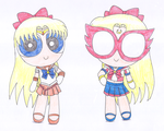 Sailor Venus and Sailor V PPG by macaustar
