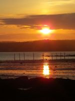 Sunset in St. Andrews by AllyCat1994