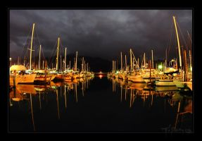 Small Boat Harbor II by tisbone