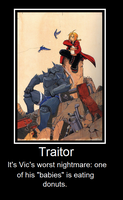 Traitor by NilesDaughter