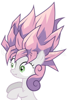 Sweetie Saiyan by APony4U