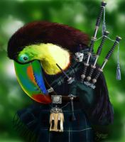Animal Planet / The Bagpiper by Kajenna