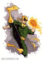 The Immortal Iron Fist by THEjesusmarquez