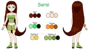 Sarai color reference by my-anime-love