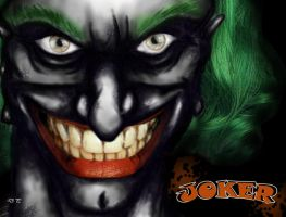 The Joker by Donjoo