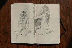 life drawing session by Abuze