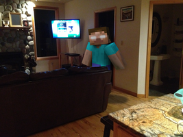 Herobrine Sighting.... by TheDevinGreat