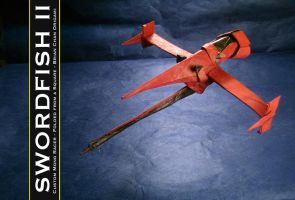 Swordfish II Origami by chosetec