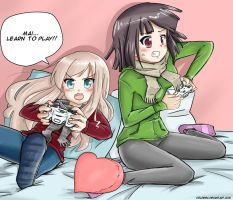 gamer girls by coldenic