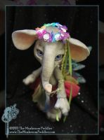 Elli the Elephant - Rainbow by TheMushroomPeddler