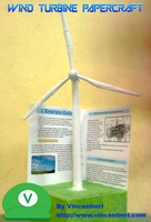 Wind Turbine Papercraft by Vincentmrl