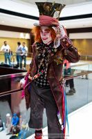 mad hatter tipping the hat by fuzzypanda0