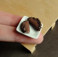 Choco tacos by fairchildart