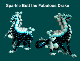 Spore - Sparkle Butt The Fabulous Drake by PukingRainbow