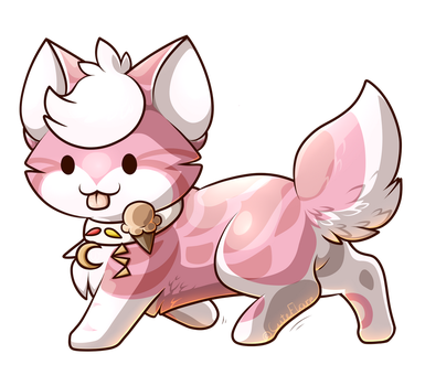 Chibi Commission - Peach by CuteFlare