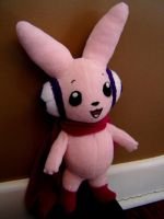 Cutemon Plushie by Eightohsixtythird