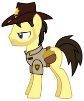 Rick Grimes Pony Version 2 by Vectorshy